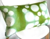 SALE - Tie Dye Shibori Pillow Cover 16x26 inches - Peapod
