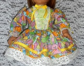 American Girl Doll Clothes: Easter Egg Dress