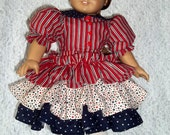 American Girl Doll Clothes: America's Stars and Stripes