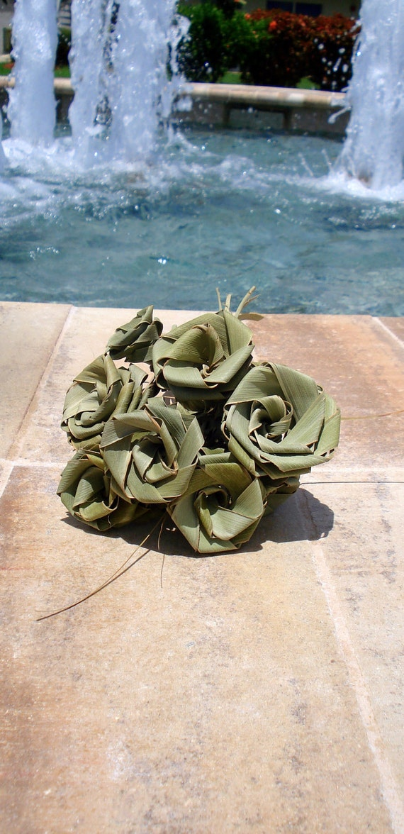 True Florida Rose made from Palmetto leaves