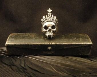 Skull Ring, Skull Jewelry,  Vampire Jewelry, Gothic Jewelry, Twilight Jewelry, Gothic, Women's Skull Ring, Men's Skull Ring, Gothic Ring