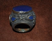 vintage oversized tribal ring