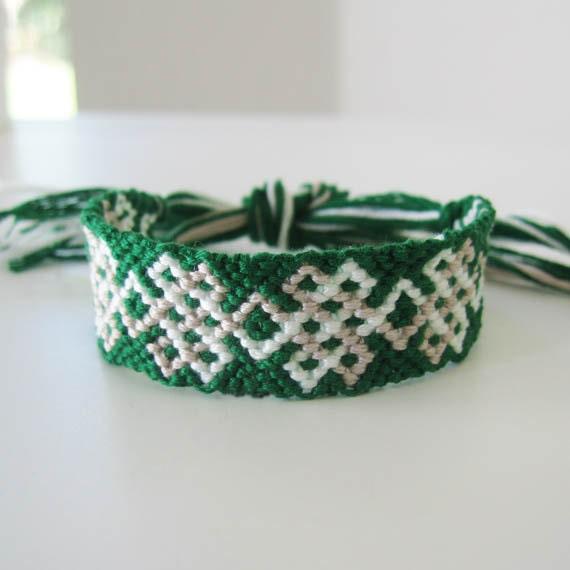 Celtic Charm, Woven Wish Bracelet Friendship Bracelet
