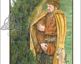 Blackthorn Card Giclee Print