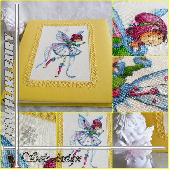 SNOWFLAKE FAIRY cross stitch pattern