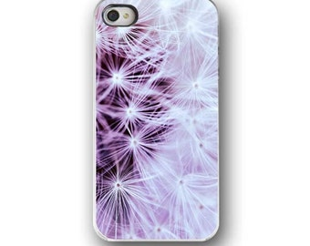 Dandilion,   iPhone 6  iPhone 5 4 4s Case, Pastel Pink, Floral, Dreamy Cell Phone Case, Accessory for   iPhone 6  iPhone 5 4 4s