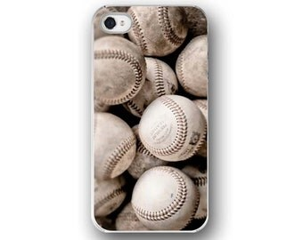 Baseballs,   iPhone 6  iPhone 5 4 4s Case, Cell Phone Case, Baseball, Vintage Sports, Accessory for   iPhone 6  iPhone 5 4 4s