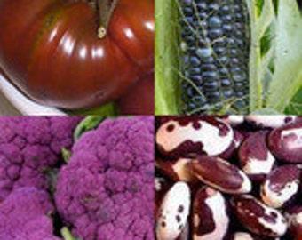 Chef's Delight Garden Kit - Organic,Heirloom Unusual Products  no gmo