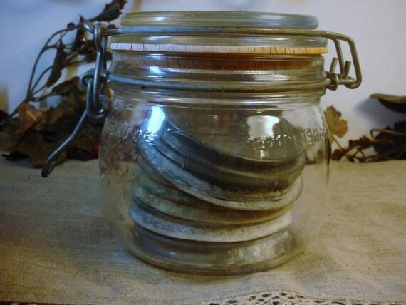 Glass Canning Jar - Vintage French Le Parfait