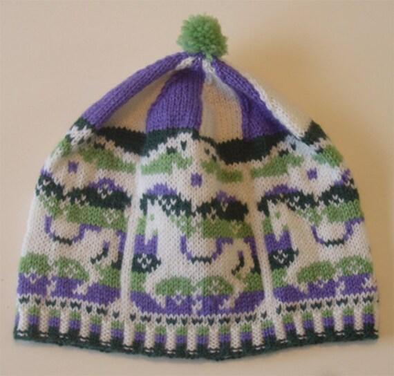 Knitting Circle Toronto : Baby child hat quot merry go round knitting pattern pdf