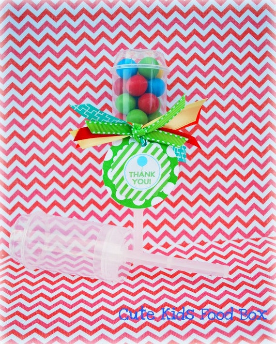 Push Pop Containers - 12 Pack - Cupcake Shooter - Push Pops - Cake Pops