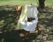 Reserved for M.H. --please do not purchase-- Lemon Meringue Baby Blanket