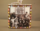 Flask  Stainless Steel Hip Flasks Lips That Touch Liquor