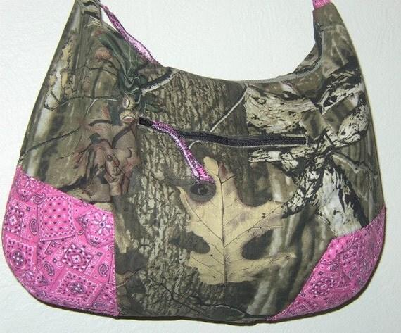 Mossy Oak Hobo Bag