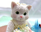 "Enesco Calico Kittens ""Planting the Seeds of Friendship"""