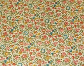 Vintage small floral wallpaper