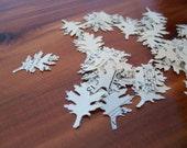 Oak Leaf Confetti from Vintage Music Paper - quantity 55