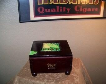 Vibe Cigar Box Jewelry / Trinket Box