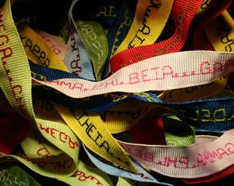 DESIGN YOUR OWN personalized hair ribbon
