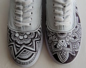 Custom Design Henna-Inspired Shoes