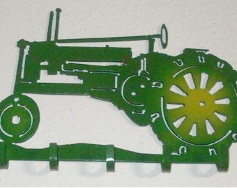 Keys Holder 5 Hooks Organizer Hook Metal Key holder John Deere B Tractor