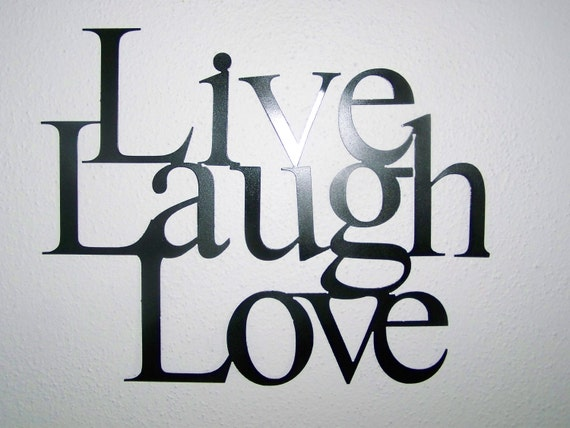 Live Laugh Love Wall Hanging Decor Available in 3 Colors