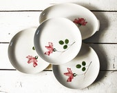 Romantic vintage Villeroy and Boch  SET  MAGALI with roses motif Hand painted Shabby chic
