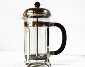 MID CENTURY french FRENCH Press Plunger coffee maker Melior Paris