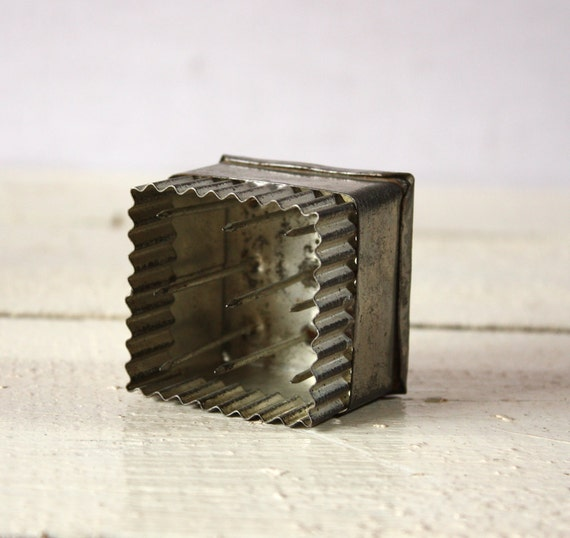 Lovely and typical french PETIT BEURRE metal Mold