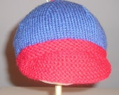 infant-toddler baseball style knit hat
