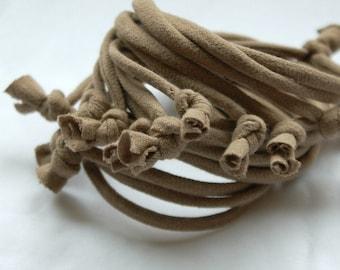 Fabric Bracelet Cuff - by LimeGreenLemon