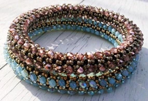 Crystal R.A.W. Bangle Bracelet Tutorial