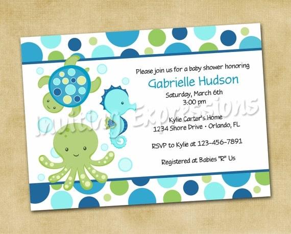 Hawaiian Baby Shower Invitations is great invitation ideas