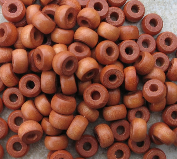 Lot of bayong rondelle beads 10mm