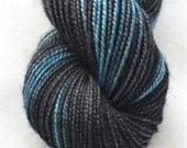 "Fingering Weight, ""Clifftop"" Merino Wool Superwash Yarn, 2 oz, machine washable yarn"