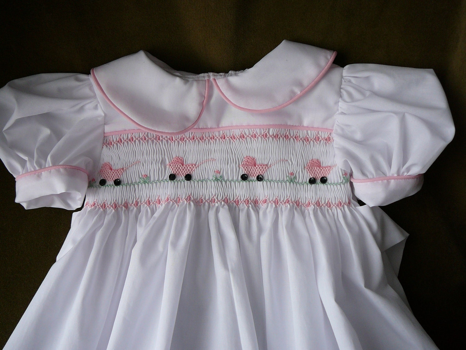 Hand Smocked Girls Dresses Baby By Themycollection2hotm