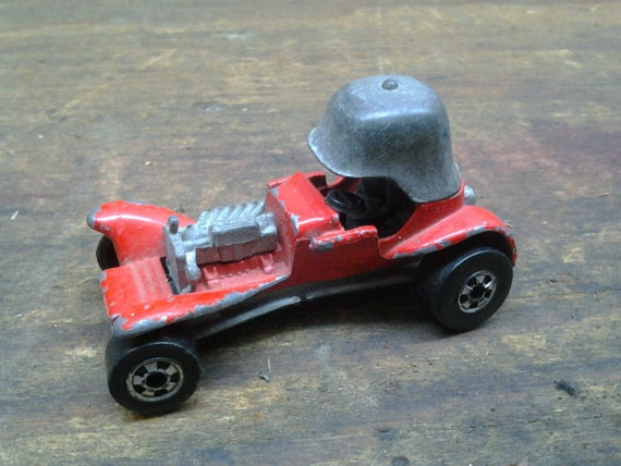 Vintage 1969 Hot Wheels Red Line Red Baron