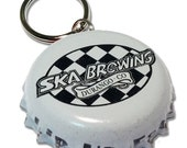 Ska Brewing Beer Bottle Cap Customizable ID Tag