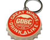 Great Divide Brewing Co. Beer Bottle Cap Customizable ID Tag