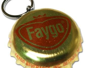 Faygo Soda Bottle Cap Customizable ID Tag