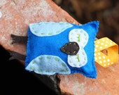 Blue Owl Ornament