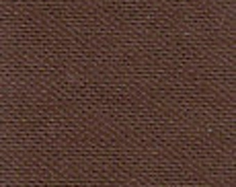 """42-44"""" Brown Cotton Broadcloth- 20 Yards Wholesale by the Bolt"""