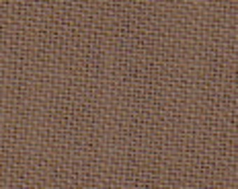 """42-44"""" Medium Brown Cotton Broadcloth- 20 Yards Wholesale by the Bolt"""