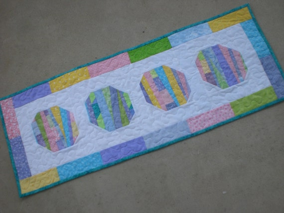 Easter Egg Table Runner