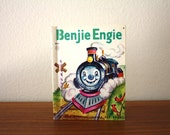 Benjie Engie Train Book, Junior Elf, 1950