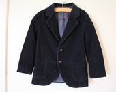 Navy Corduroy Blazer Jacket, Toddler 3T