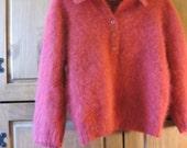 Vintage Angora  Designer Sweater