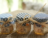 100 Personalized Wedding Honey Jar Favors - 1.5 ounce Hexagon With Sweet Raw Honey From the Beehive State