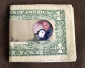 Heirloom  or Memorial Money Clip - Silver color finish