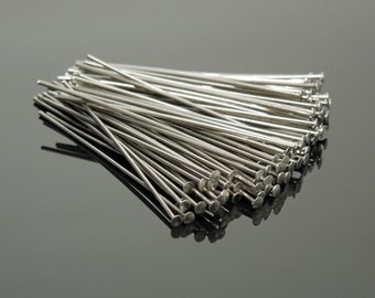 "22 Gauge 1.75"" Stainless Steel Headpins (300)"